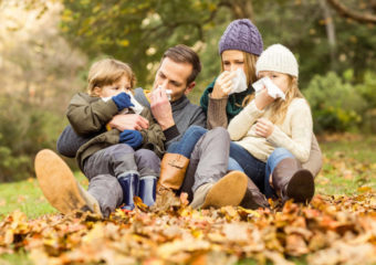 Як вберегти себе і дитину від хвороб восени